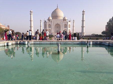 Tajmahal, Historical, River, Taj, Wonder