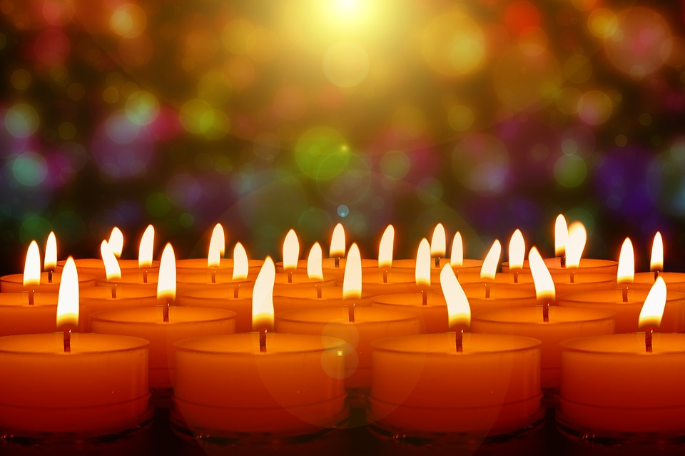 Candles, Candlelight, Lights, Evening, Advent