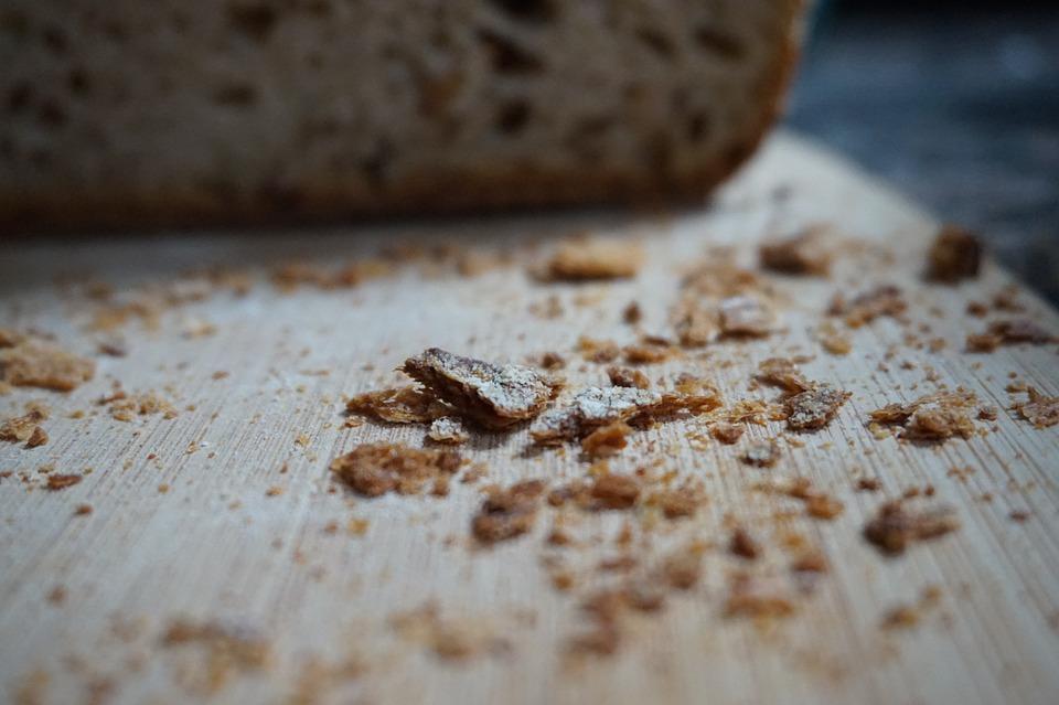 Food, Bread, Crumbs, Crispy, Stick