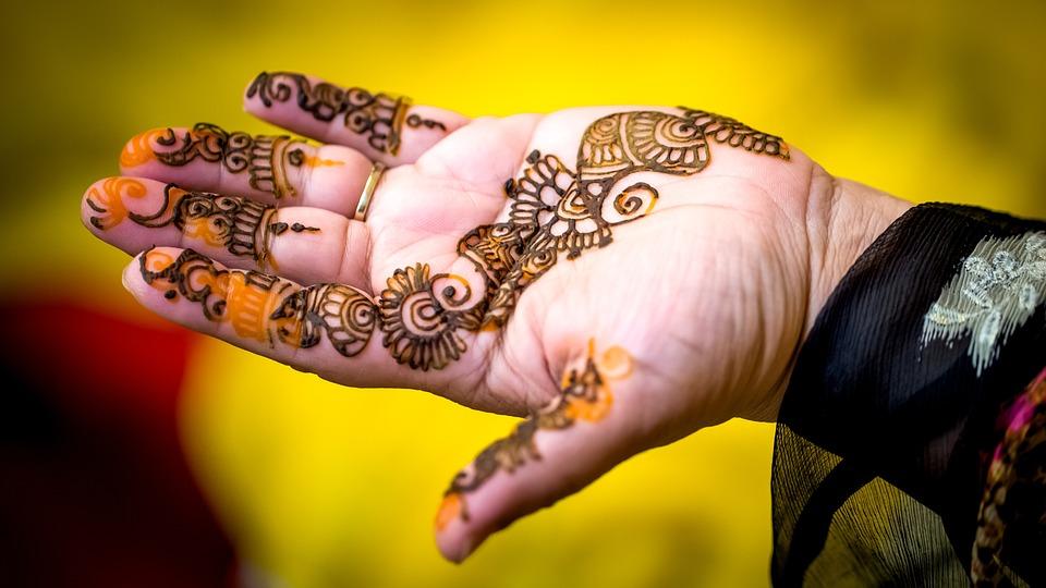 Indian Wedding Henna Tattoo Mehndi Free Photo On Pixabay