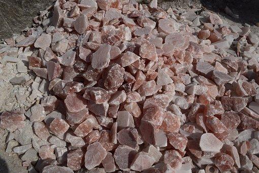 Lots Of Rock Salt, Rock, Salt, Pieces