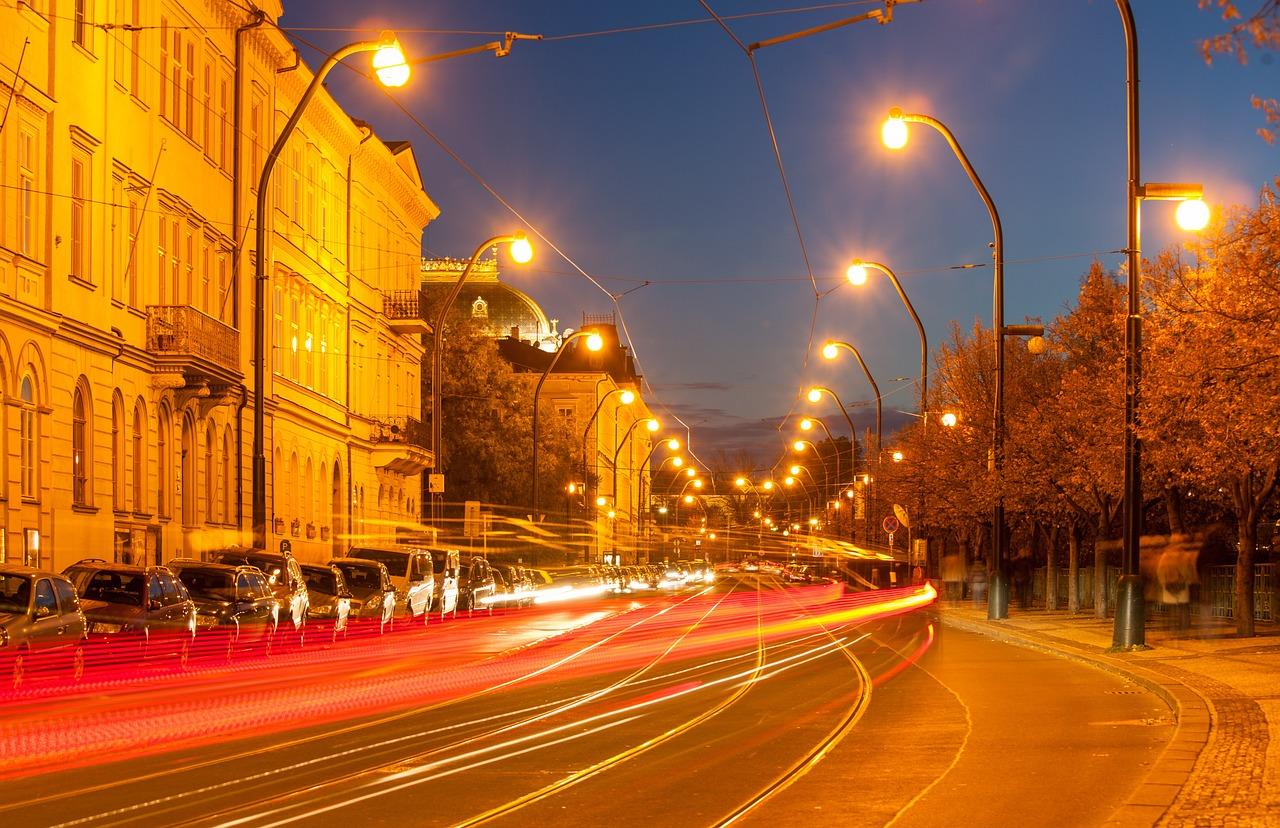Прага Чехия Ночь - Бесплатное фото на Pixabay