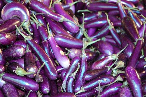 Bhutan, Organic, Eggplant