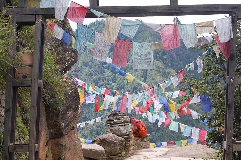 Prayer Flags Bhutan - Free photo on Pixabay