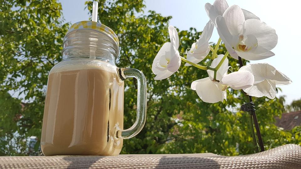 Vegan, Latte Di Cocco, Latte Di Mandorla, Caffè