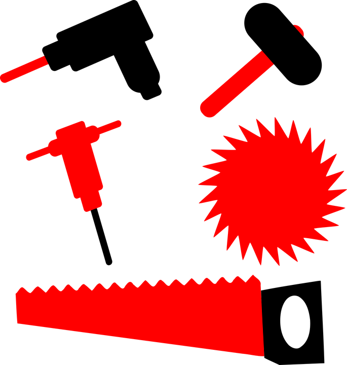 Drill Hammer Sledgehammer - Free vector graphic on Pixabay