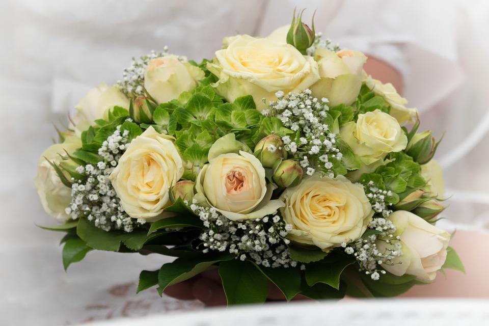 Blumen Hochzeitsstrauss Hochzeit Kostenloses Foto Auf Pixabay