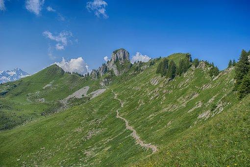 Landscape, Switzerland, Mountains