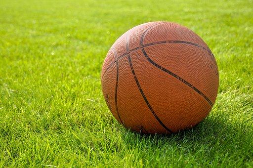 ボール, ボールバスケットボール, バスケット ボール, サッカーボールの草