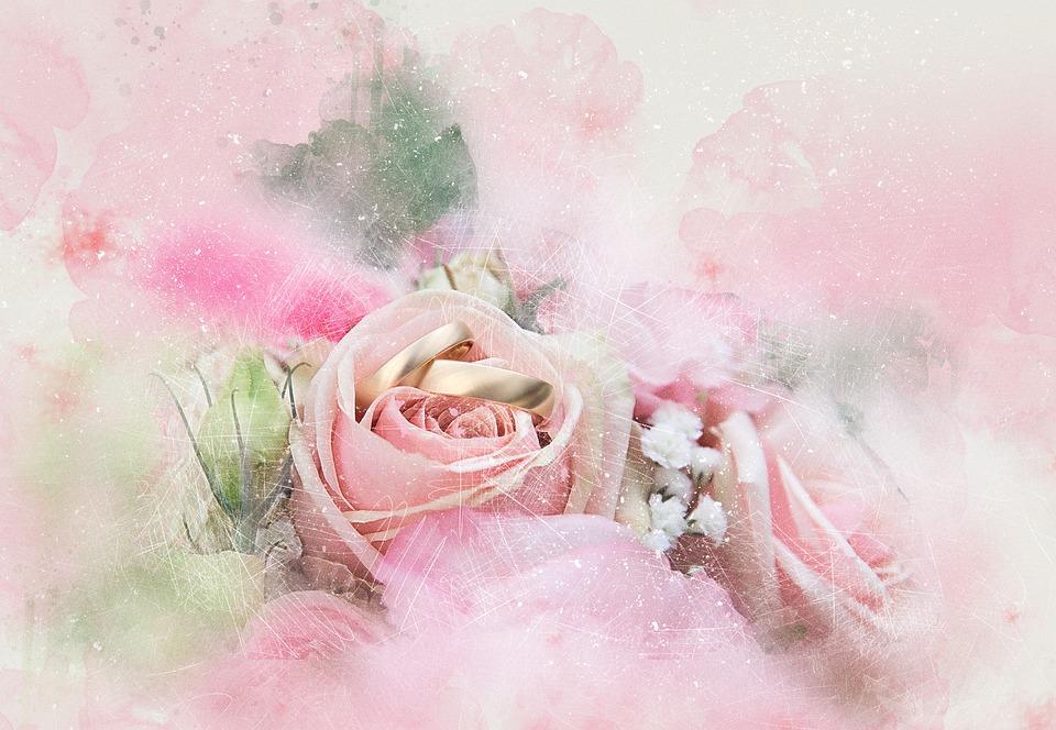 Blumen Ringe Hochzeit Kostenloses Bild Auf Pixabay