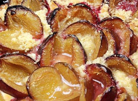 Plum Cake, Plums, Streusel Cake, Cake