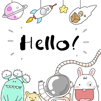 Toys, Astronaut, Rocket, Planet, Galaxy