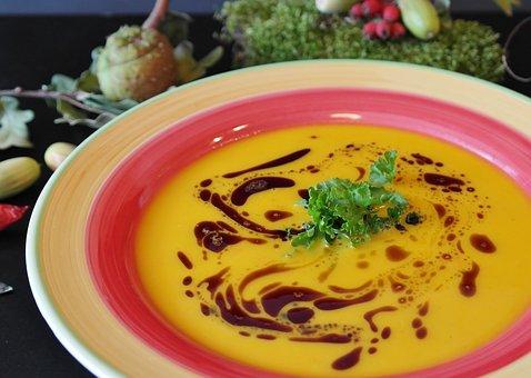 Pumpkin Soup, Soup, Hokkaido Soup