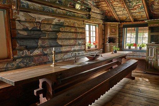Farmhouse, Museum, House, Architecture