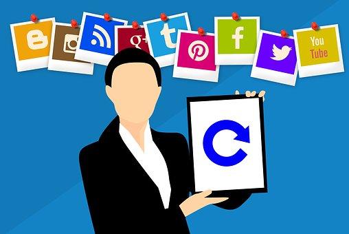 Refresh, Update, App, Icon, Social, Net