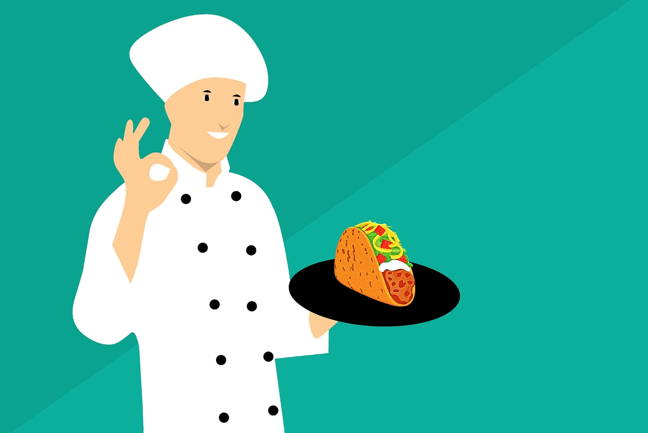 Taco Chef Cartoon - Free image on Pixabay
