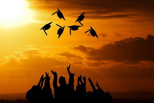 Graduation, Academic, Accomplish, Air