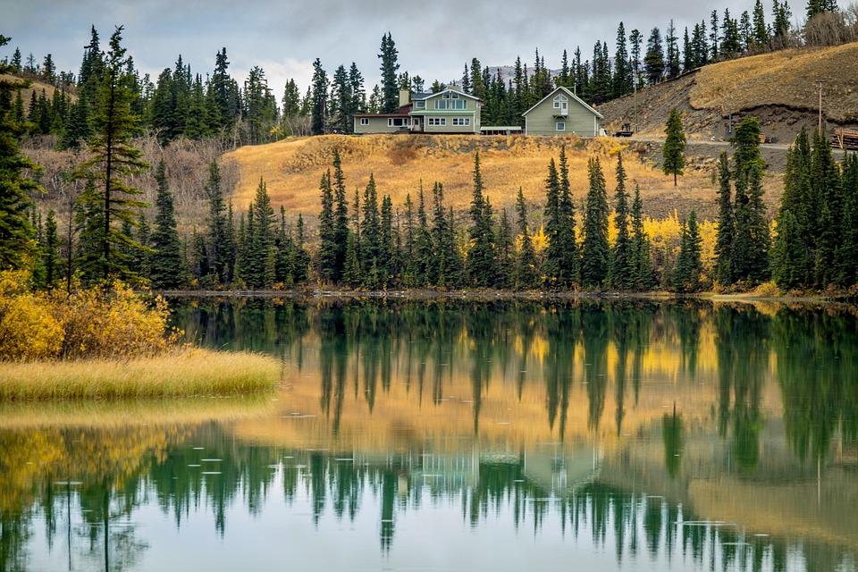 Canada, Carcross, Lake, Outdoors, Yukon, Wild-West