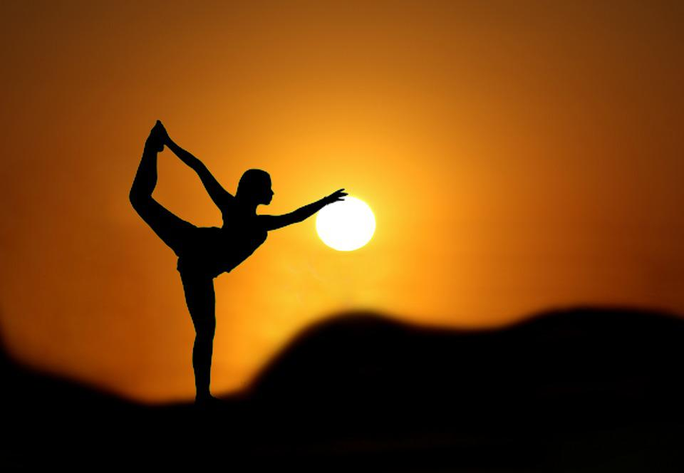 Gymnast Sunset Silhouette - Free photo on Pixabay