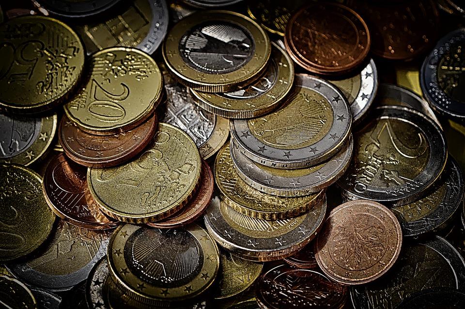 Munten, Geld, Valuta, Euro, Specie, Loose Change, Goud