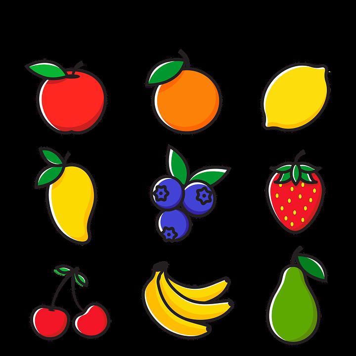 Fruits Icons Fruit Apple - Free image on Pixabay