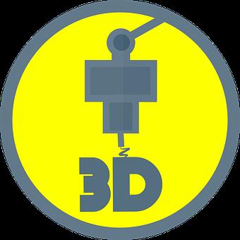 Printer, 3D, Extruder, Computer