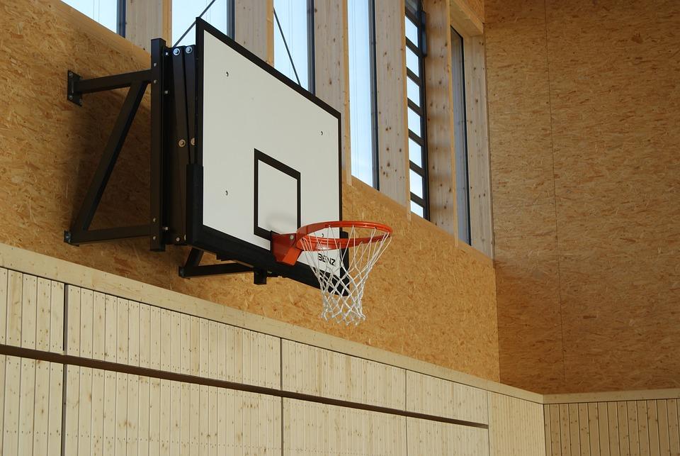Basketball, Basketballkorb, Sport, Korb, Turnhalle