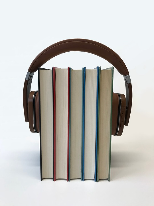 Headphones, Audiobook, Technology, Multimedia