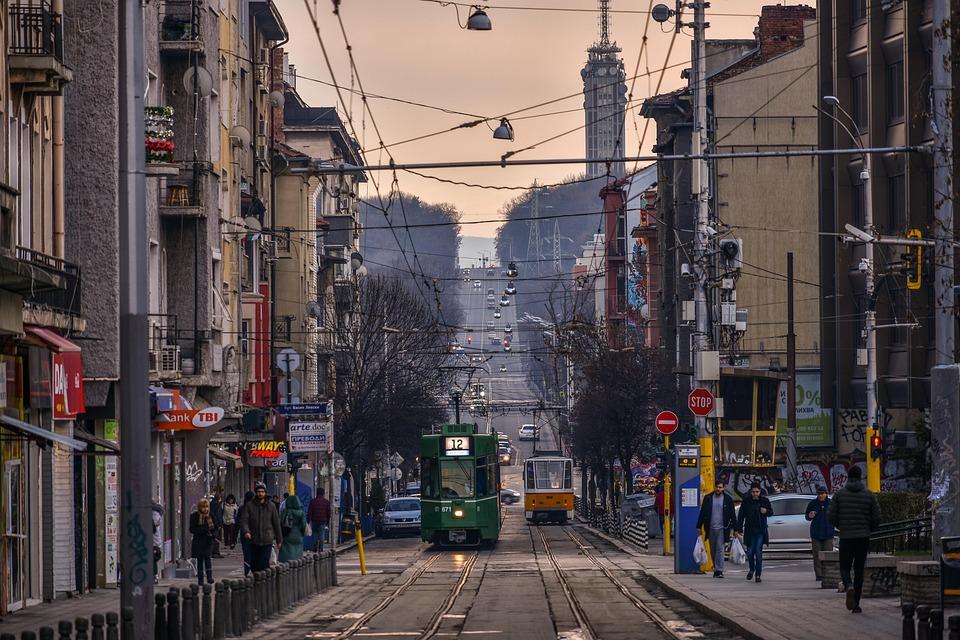 Sofia, City, Tramway
