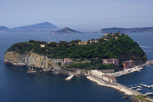 Nisida, Napoli, Campania, Italia, Golfo