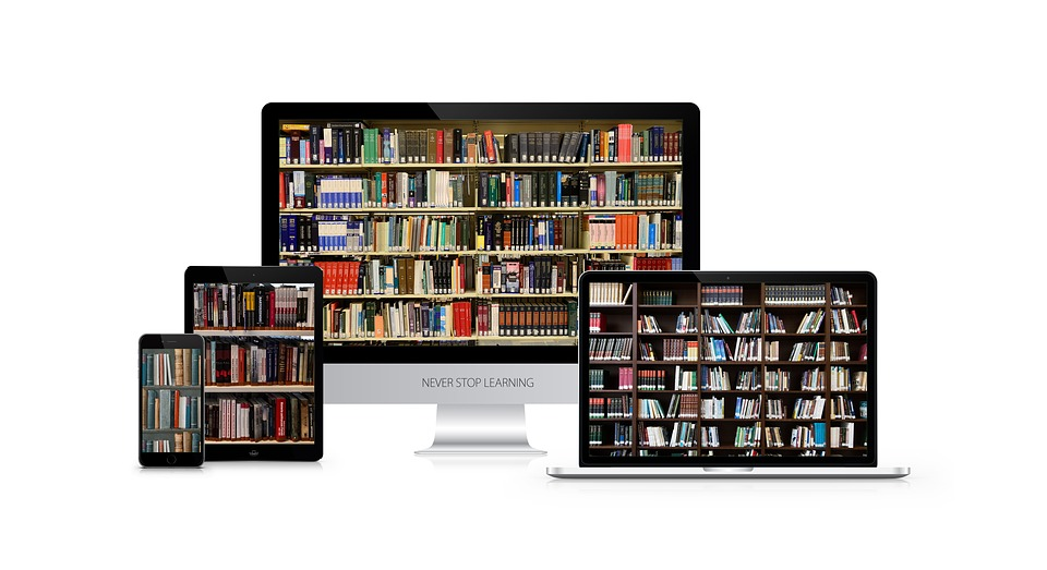 Books, Read, Monitor, Online, Education, Knowledge