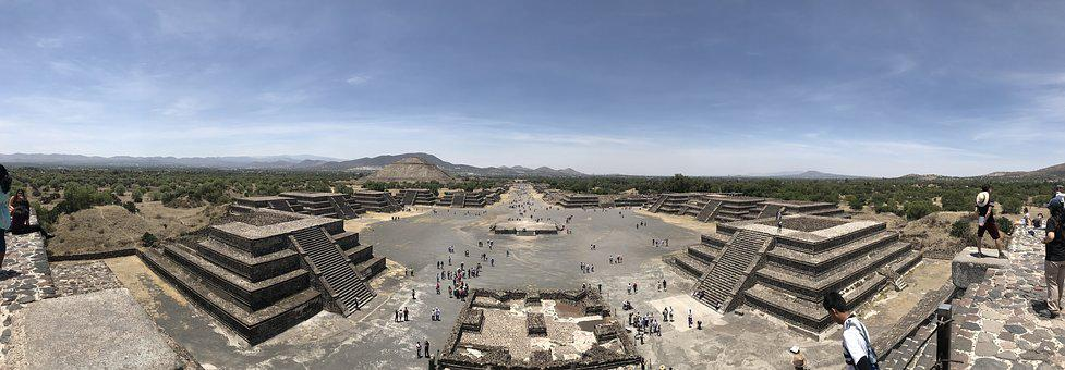 Teotihuacan, Mexico City, Pyramid