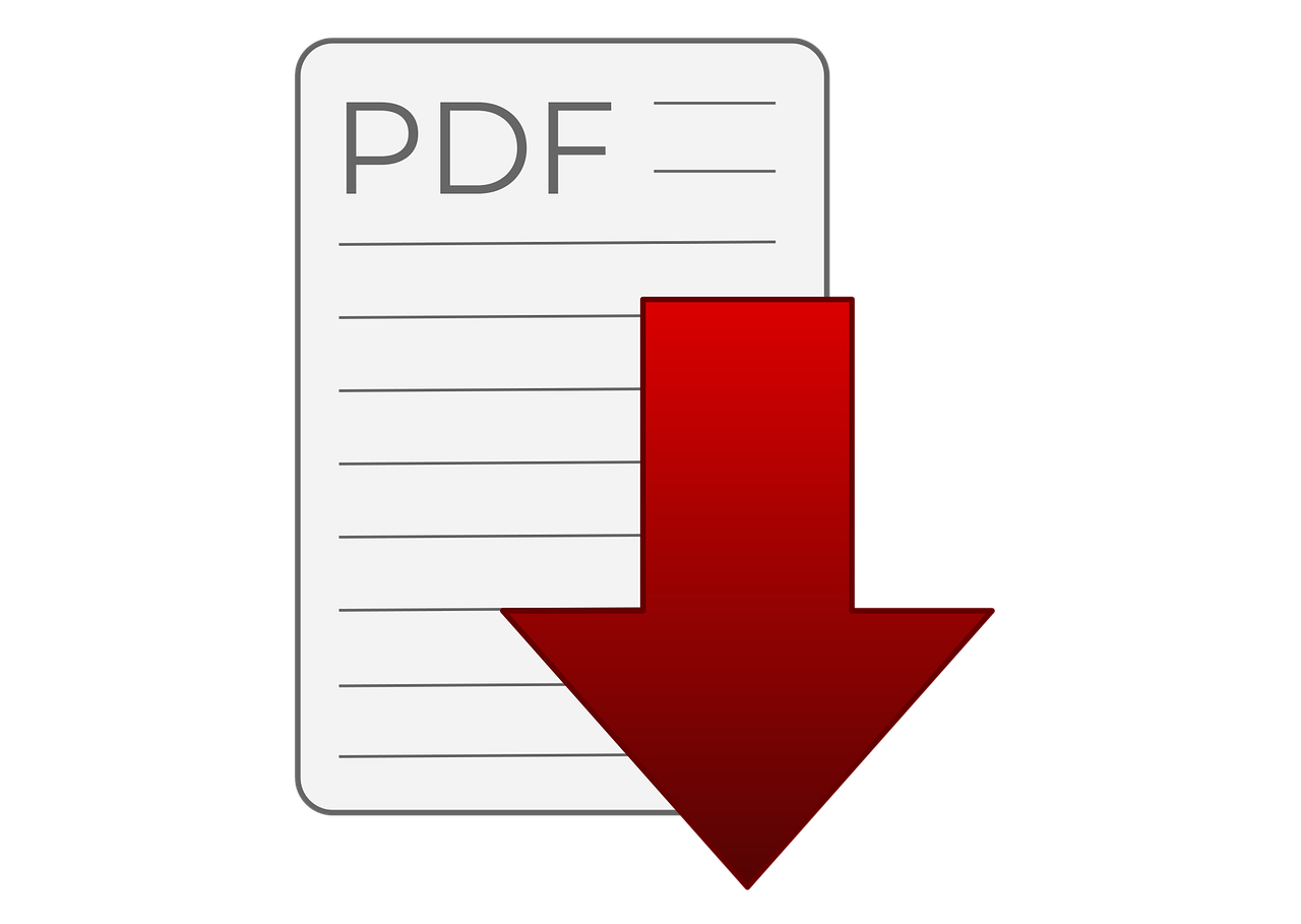 Download Do Arquivo Em Pdf - Gráfico vetorial grátis no Pixabay