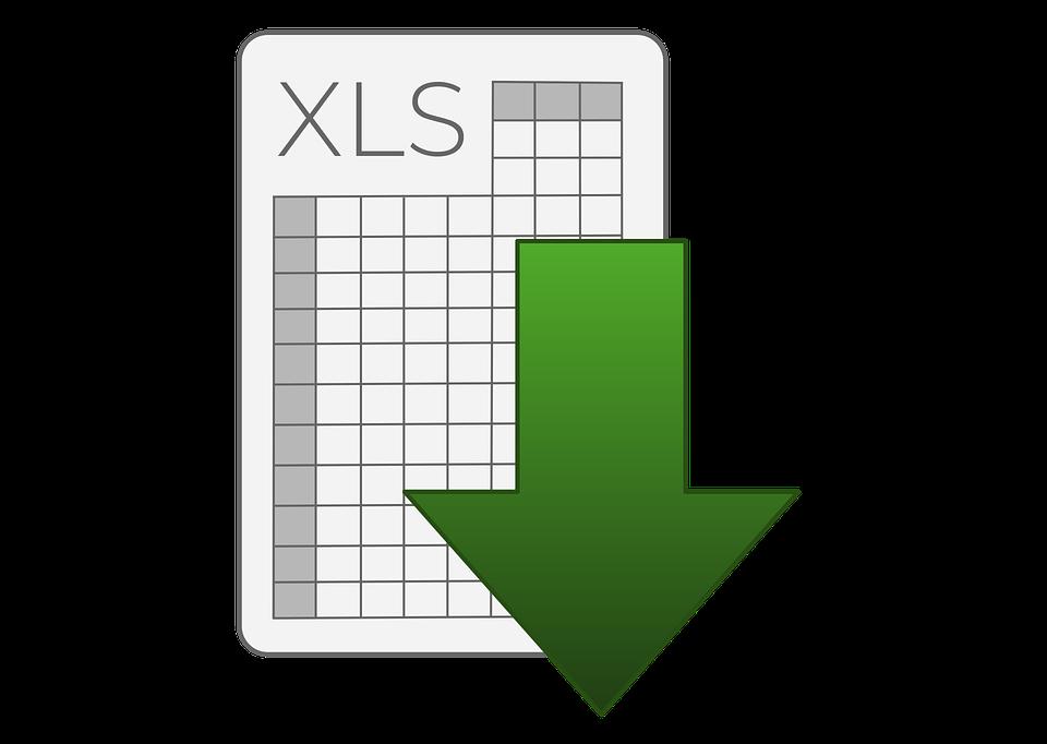 Excel, Xls, Xlsx, Icon, Dokument, Herunterladen