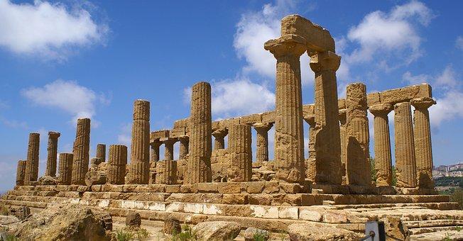 Valle Dei Templi, Agrigento, Sicilia