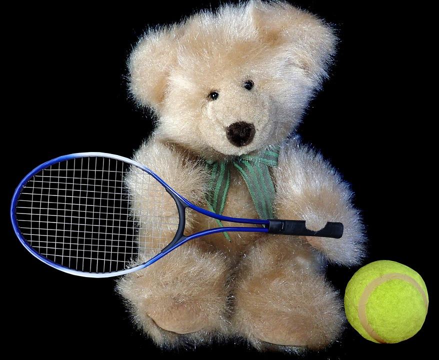 tarjouskoodit yksityiskohtainen ilme laatu Nalle Karhu Tenniskenttä - Ilmainen valokuva Pixabayssa