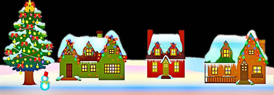 Christmas House Decoration Free Image On Pixabay