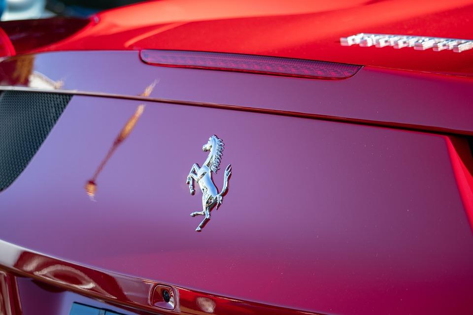 Ferrari Logo Auto Kostenloses Foto Auf Pixabay
