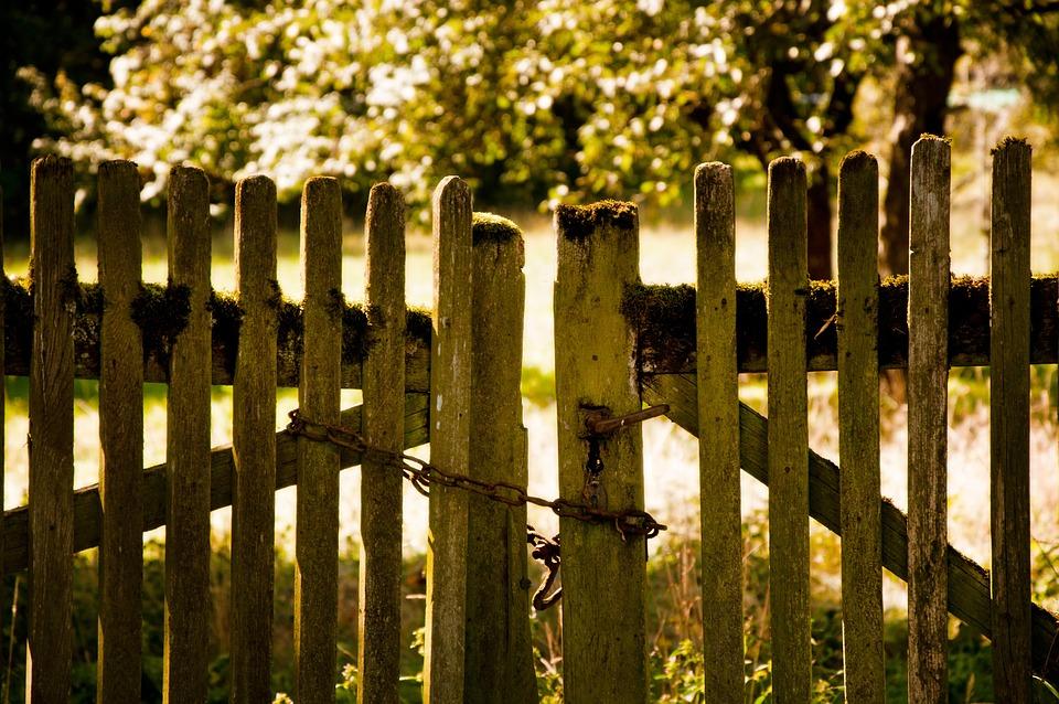 Zaun Garten Kette - Kostenloses Foto auf Pixabay