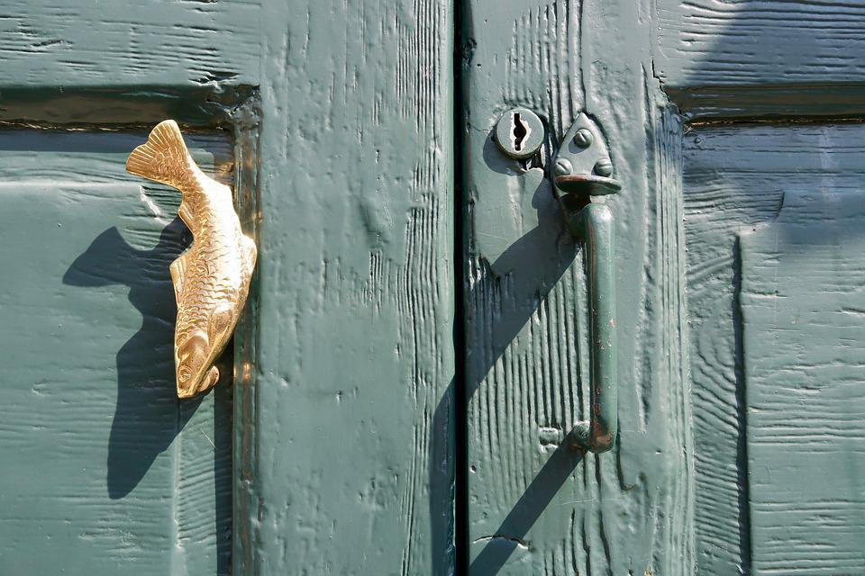 Front Door Handle Fish Free Photo On Pixabay