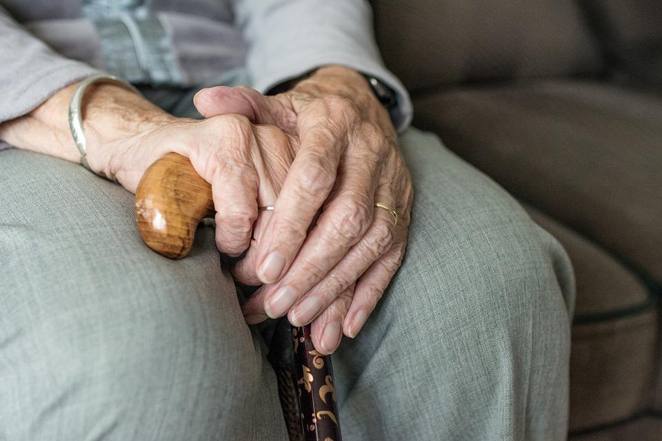 Hånd, Menneske, Kvinde, Voksen, Hænder, Ældre