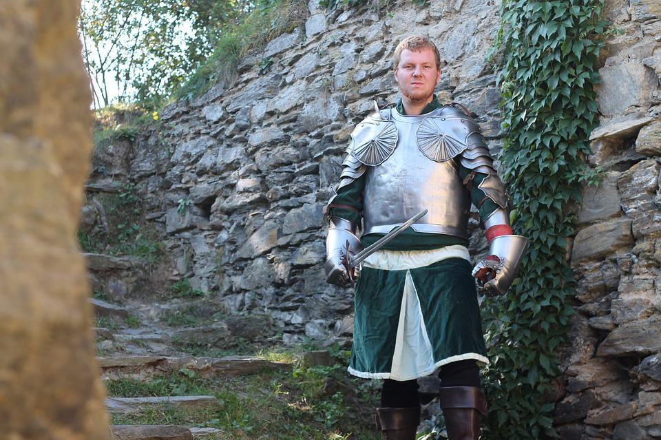 Knight, Historical Fencing, Middle Ages, Fight, Sword