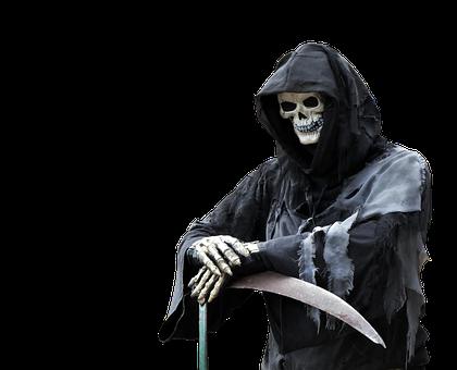 Reaper, Death, Halloween, Spooky, Scary