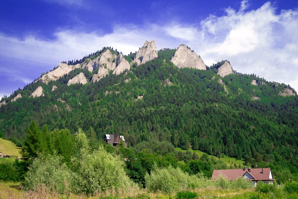 Góry, Przyroda, Natura, Krajobraz, Widok, Szlak, Szczyt