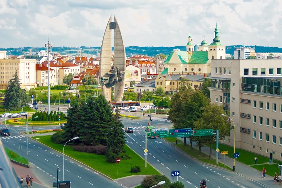 Miasto, Rzeszów, Architektura, Turystyka, Polska