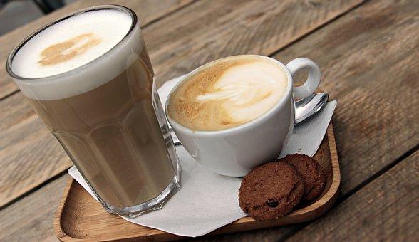 Milky espresso drinks