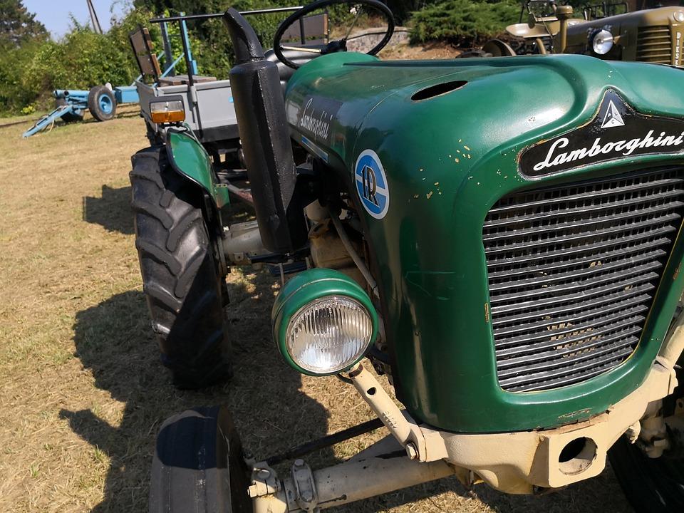 Prächtig Tractor Lamborghini Tractors - Free photo on Pixabay &GA_34