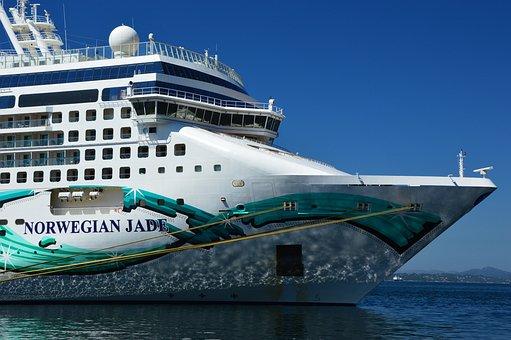 Cruise Ship, Ship, Bug, Cruise, Water