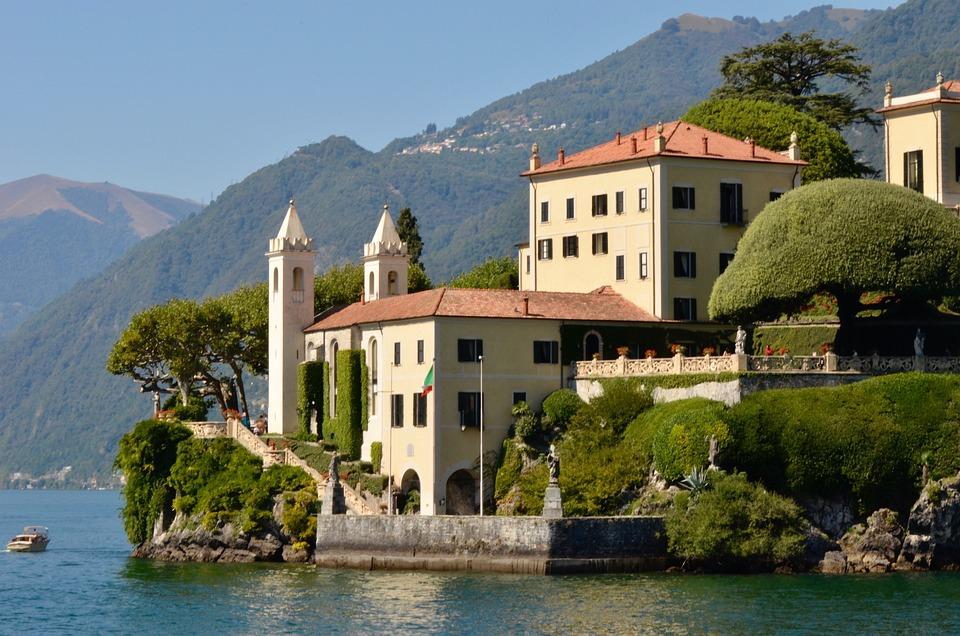 Villa Balbianello, Italia, Architettura, Acqua