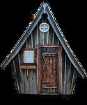 holzhaus, chata, dom czarownicy